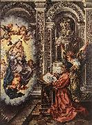 St Luke Painting the Madonna sdg, GOSSAERT, Jan (Mabuse)